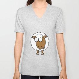 Ooh Zoo – farm-series, Sheep Unisex V-Neck