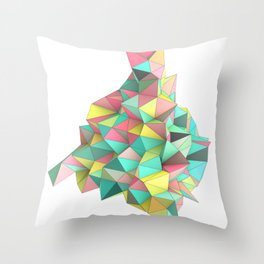 Origami II Throw Pillow