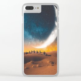Morocco's desert Clear iPhone Case