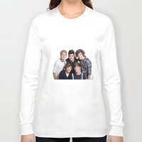 one direction Long Sleeve T-shirts featuring One Direction by Sara Khaled