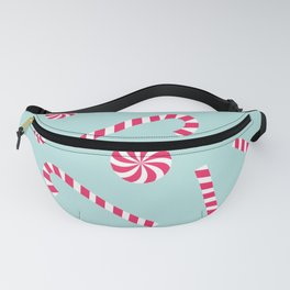 Candy Cane Fanny Pack