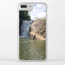 Waterfall2 Clear iPhone Case