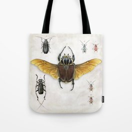 The Vintage Beetles Collection Tote Bag