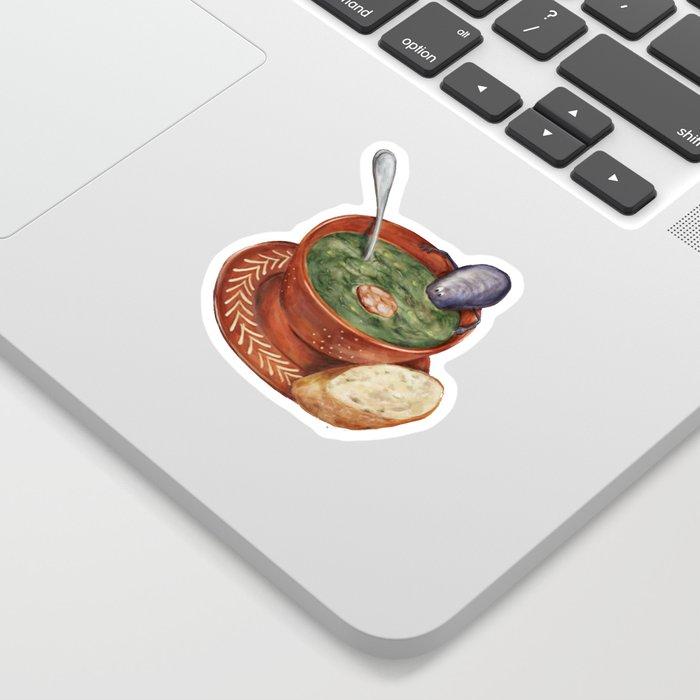 La Cuisine Fusion - Mussels with Caldo Verde Sticker
