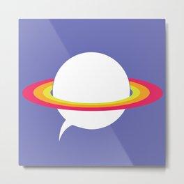 Space talk Metal Print