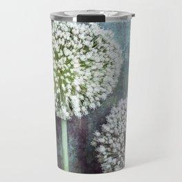 Allium Flowers Travel Mug