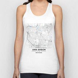 Ann Arbor, Michigan Unisex Tank Top