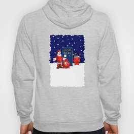 Tardis With Santa Christmas Hoody
