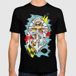 Ocean City Maryland Anchor T-shirt