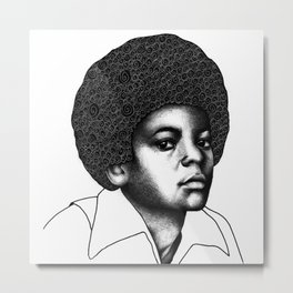 Little King Metal Print