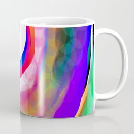 Space Rainbow Coffee Mug