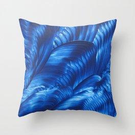 Blue Rhapsody Throw Pillow