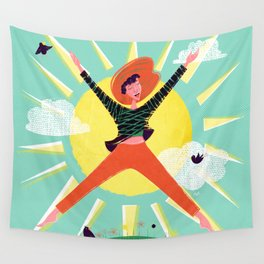 Exuberant! Wall Tapestry