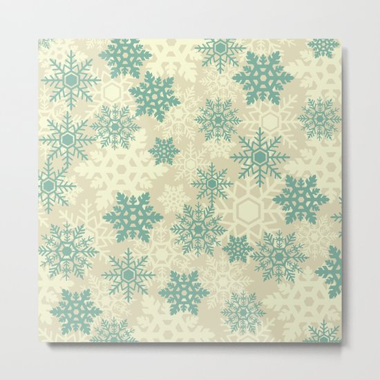 Snowflakes #2 Metal Print