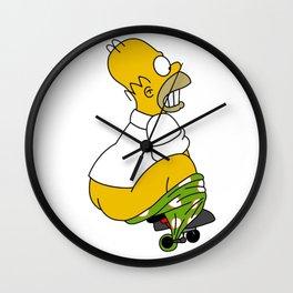 open pants simpson Wall Clock