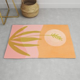 Desert Moon With Agave Rug