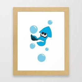 splatoon - squid Framed Art Print