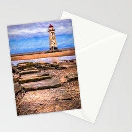 Talacre Lighthouse Art Stationery Cards