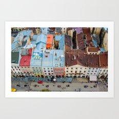panorama Lviv Art Print