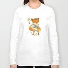 Fritz the Fruit-Foraging Fox Long Sleeve T-shirt