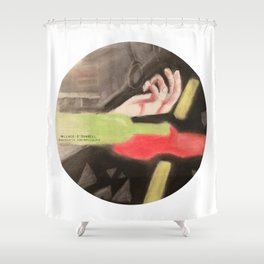 Immortal by Wallace O'Donnell  Shower Curtain