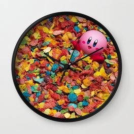 Kirby Pebbles Wall Clock