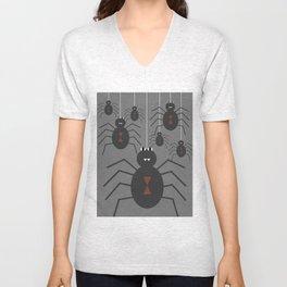 Spiders Unisex V-Neck