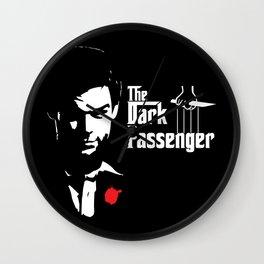 The Dark Passenger Wall Clock