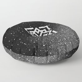 The Sound of the Universe Floor Pillow