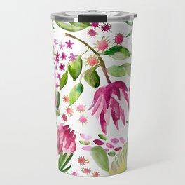 Protea Flower Bloom Travel Mug