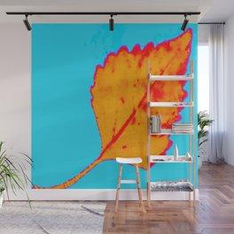 BE LIKE A LEAF #10 Wall Mural