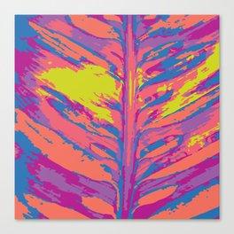 leafy coral Canvas Print