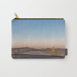 SUNSETS WITH HER / California Carry-All Pouch