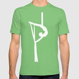 Aerial Silk Artist Silhouette  T-shirt