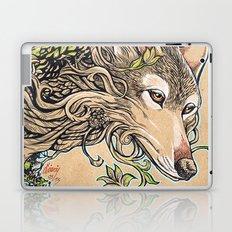 Dog of the Mountain - Honshu Wolf Laptop & iPad Skin