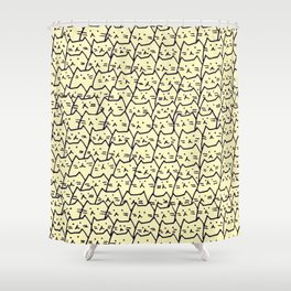 Cat 244 Shower Curtain