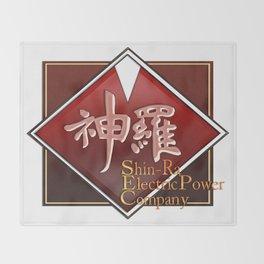 Shin-Ra Electric Throw Blanket