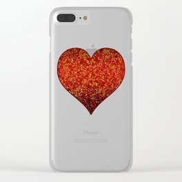 Glitter Graphic G132 Clear iPhone Case