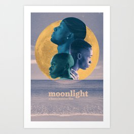 Moonlight Alternate Poster - 2017 Art Print
