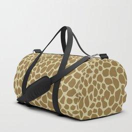 Giraffe Print Duffle Bag