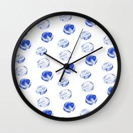 Threeses Cheeses Wall Clock