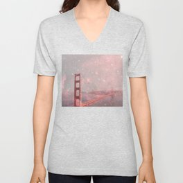 Stardust Covering San Francisco Unisex V-Neck