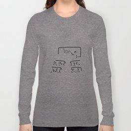 teacher trains training Long Sleeve T-shirt