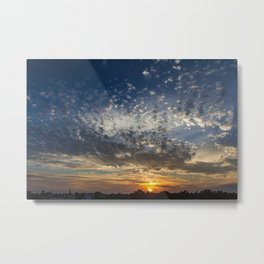 Tiny Clouds Metal Print