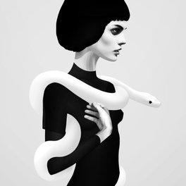 Framed Art Print - Only Skin - Ruben Ireland