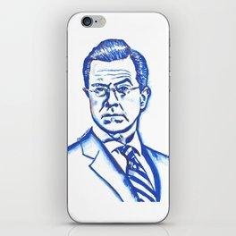 Stephen Colbert in Blue iPhone Skin