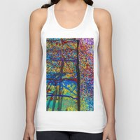 chaos Tank Tops featuring Chaos by Claire Doherty