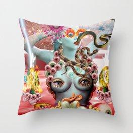 Waikiki Tide Throw Pillow