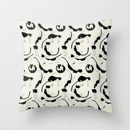 Catz Throw Pillow