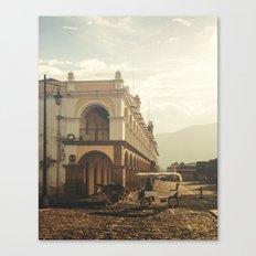 Antigua, Guatema Palace Canvas Print